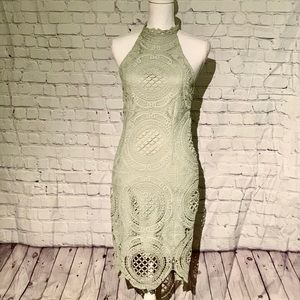 Charlotte Russe Crocheted Dress